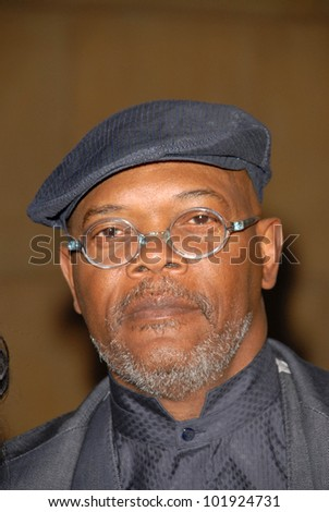"""Samuel L. Jackson at the Los Angeles Premiere of """"Mother and Child,"""" Egyptian Theater, Hollywood, CA. 04-19-10 - stock photo"""