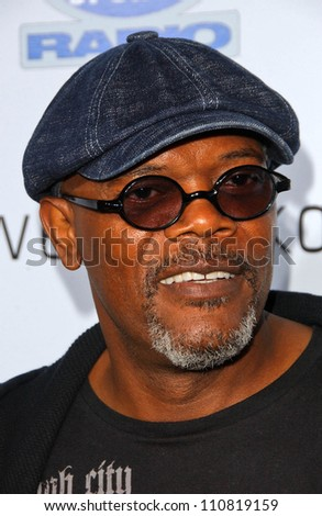 """Samuel L Jackson at the Los Angeles Premiere of """"Resurrecting The Champ"""". Samuel Goldwyn Theater, Beverly Hills, CA. 08-22-07 - stock photo"""