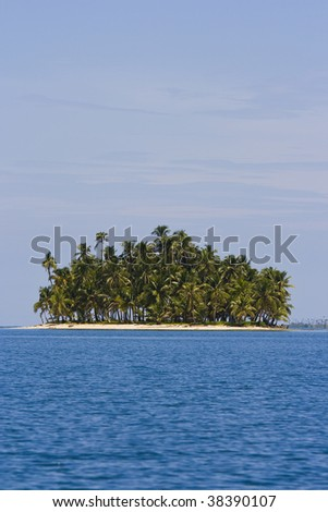 San Blas Island - Comarca de Kuna Yala, Panama - stock photo