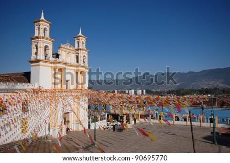 San Cristobal De Las Casas, Chiapas, Mexico - stock photo