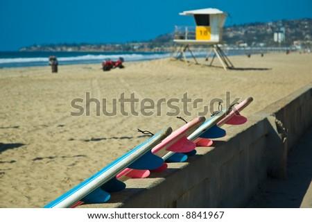 San Diego beach - stock photo