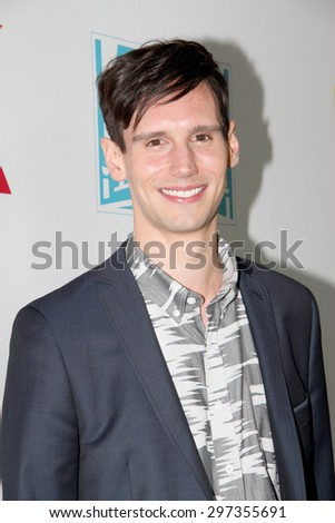 SAN DIEGO, CA - JULY 10: Cory Michael Smith arrives at the 20th Century Fox/FX Comic Con party at the Andez hotel on July 10, 2015 in San Diego, CA. - stock photo
