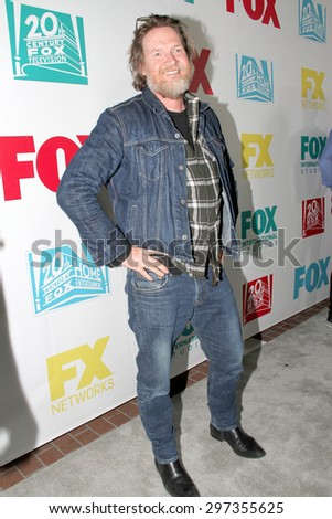SAN DIEGO, CA - JULY 10: Donal Logue arrives at the 20th Century Fox/FX Comic Con party at the Andez hotel on July 10, 2015 in San Diego, CA. - stock photo