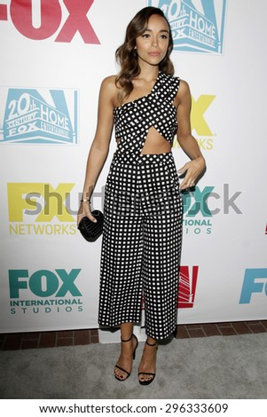 SAN DIEGO - JUL 10:  Ashley Madakwe at the 20th Century Fox Party Comic-Con Party at the Andaz Hotel on July 10, 2015 in San Diego, CA - stock photo