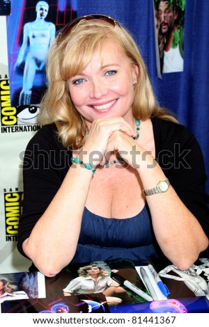 SAN DIEGO - JUL 21:  Cindy Morgan at the 2011 Comic-Con Convention at San Diego Convetion Center on July 21, 2010 in San DIego, CA.