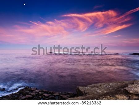San Diego's La Jolla Cove, San Diego, California - stock photo