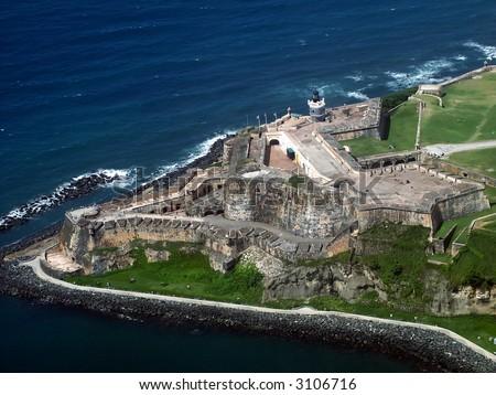 San Felipe del Morro Fort - stock photo