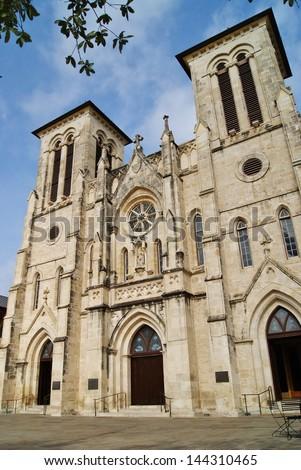 San Fernando Cathedral San Antonio 2 - stock photo