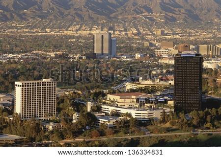 San Fernando Valley, CA - stock photo