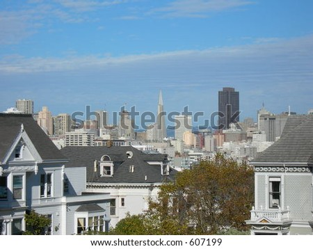 San Francisco - stock photo