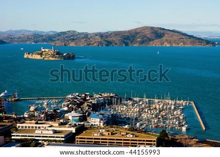 San Francisco aerial view - stock photo
