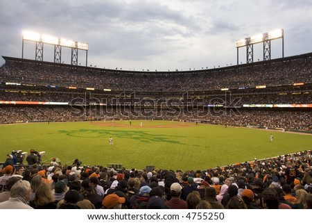 San Francisco Baseball stadium - stock photo