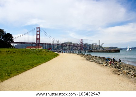 San Francisco Bay: a view of the Golden Gate