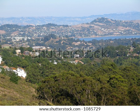 San Francisco Bay Area - stock photo