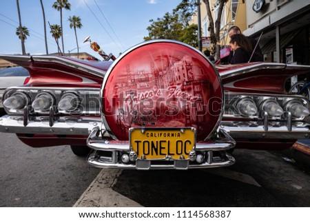 SAN FRANCISCO CA USA MAY Stock Photo Edit Now - Lowrider car show san francisco 2018