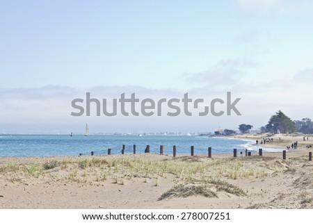 San Francisco - California - USA - stock photo