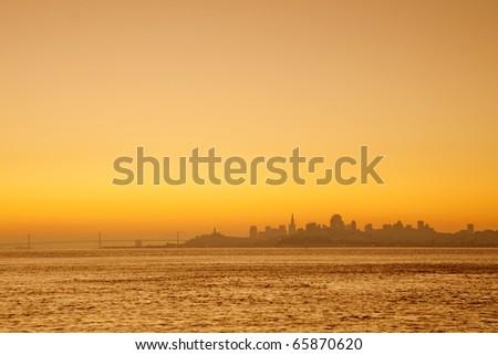 San Francisco city - stock photo