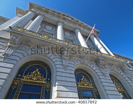 San Francisco City Hall - stock photo