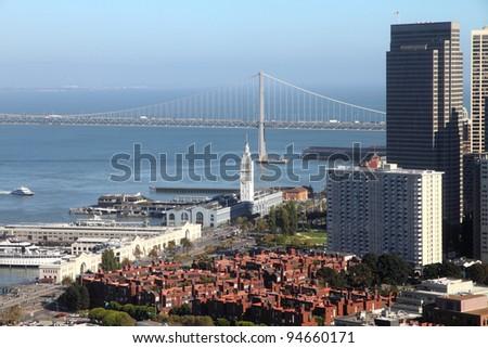 San Francisco cityscape - stock photo