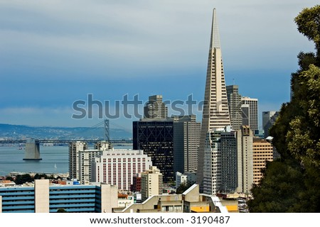 San Francisco downtown - stock photo