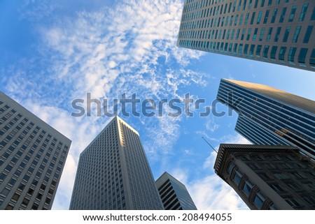San Francisco Highrise - stock photo