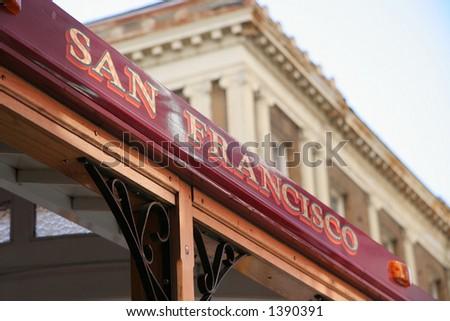 San Francisco Trolley - stock photo