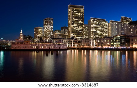 San Francisco waterfront (Embarcadero area)
