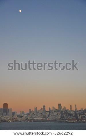 San Fransisco skyline - stock photo