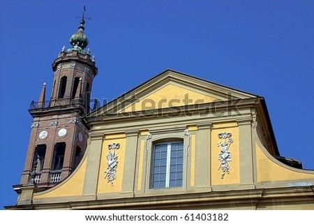 San Giovanni Church in Parma, Italy - stock photo