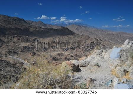 San Jacinto Mountains - stock photo