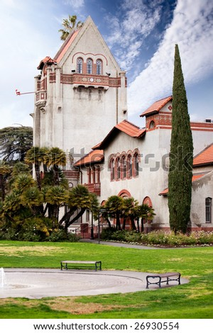 San Jose University in California - stock photo