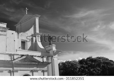 San Juan Cathedral - stock photo
