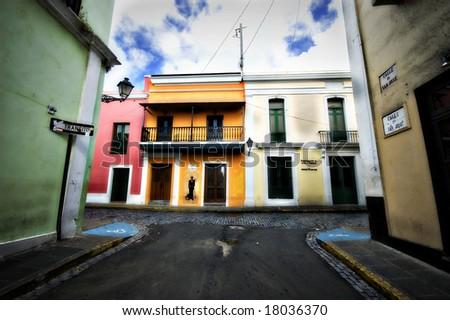 San Juan Colors - stock photo