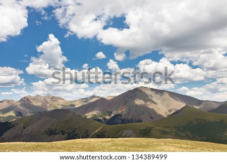 San Luis Peak in the Rocky Mountains is one of Colorado's Fourteeners.