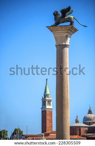 San Marco square in Venice, Italy  - stock photo