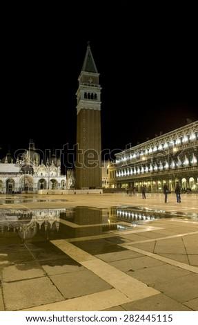 San Marco Square, Venice - stock photo