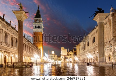 San Marco square, Venice Italy. - stock photo