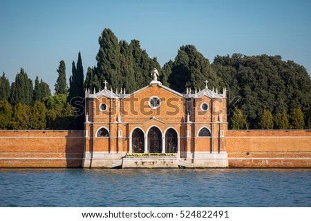 San Michele is an island in the Venetian Lagoon