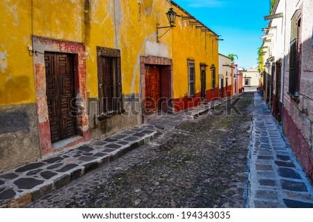 San Miguel de Allende, Mexico - stock photo