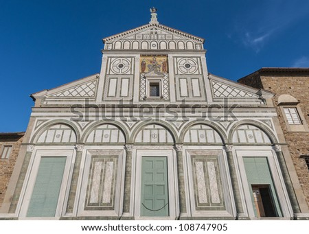 San Miniato al Monte (St. Minias on the Mountain) is a basilica in Florence, Italy, standing atop one of the highest points in the city.
