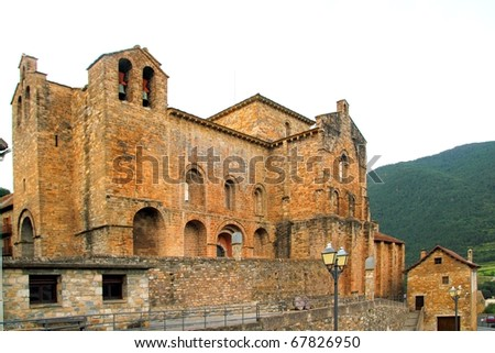 San Pedro siresa romanesque monastery church Huesca aragon spain