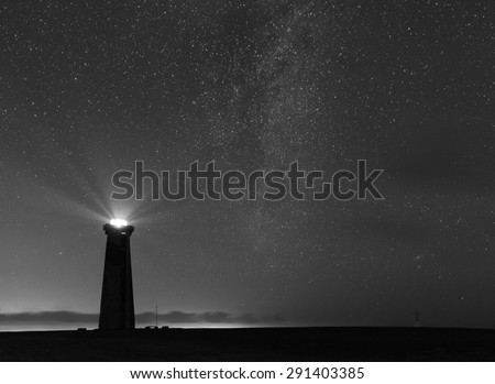 Lighthouse Black And White Stock Images, Royalty-Free ...