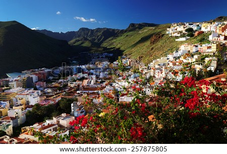 San Sebastian de la Gomera, Canary Islands, Spain - stock photo
