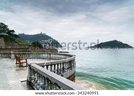 San Sebastian, Spain - stock photo