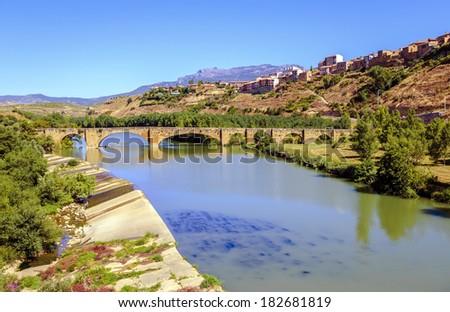 San Vicente de la Sonsierra, La Rioja, Spain - stock photo
