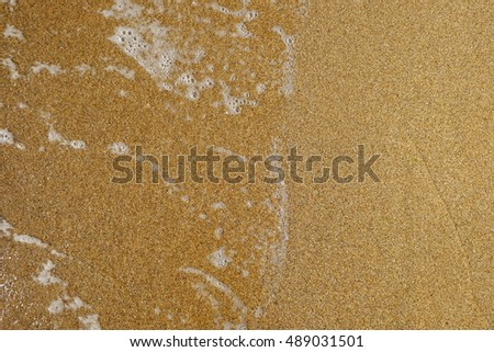 Sand and sea background