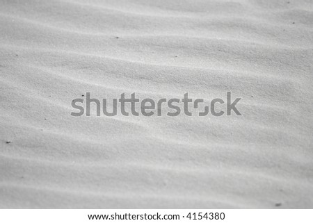 Sand at Whitehaven Beach - stock photo