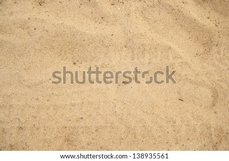sand backgroun and texture - stock photo