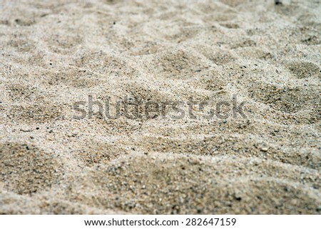 Sand Background / background - stock photo