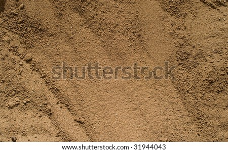 Sand background. Natural brown abstract